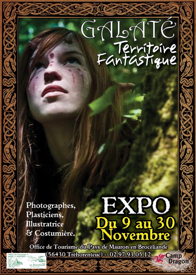 Expo galat territoire fantastique novembre 2014 le troll baveur - Office tourisme trehorenteuc ...